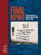 Final Report on the Bombing of the Alfred P. Murrah Building