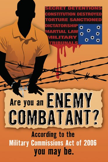 a discussion on enemy combatants and the meaning of the military commissions act